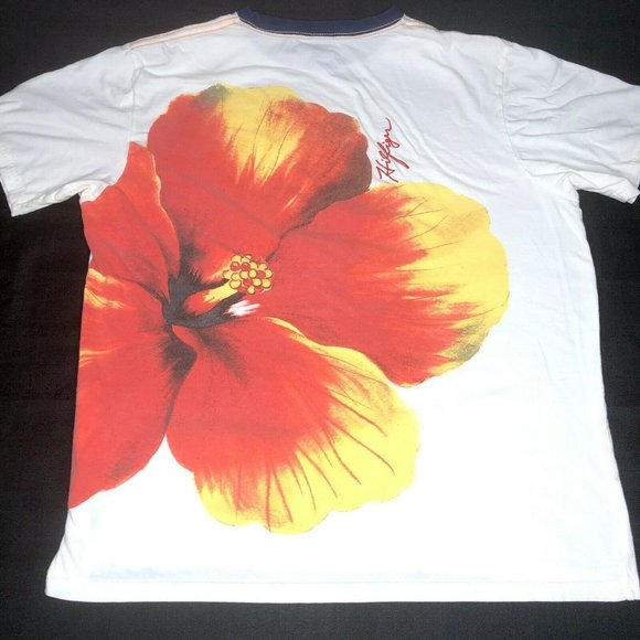 Tommy Hilfiger Other - Tommy Hilfiger Hawaiian Floral Graphic T Shirt